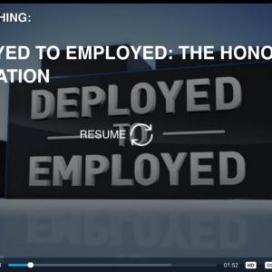 Deployed to Employed