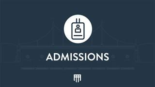 program admission video image