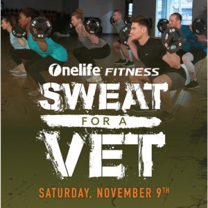 The Honor Foundation + Onelife Fitness:  Sweat for a Vet Event