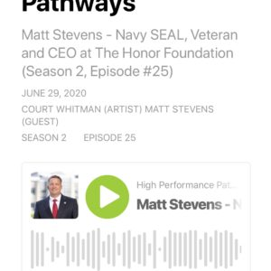THF on High Performance Pathways Podcast